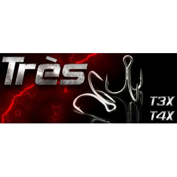 SEASPIN TRES TREBLE HOOK 3X