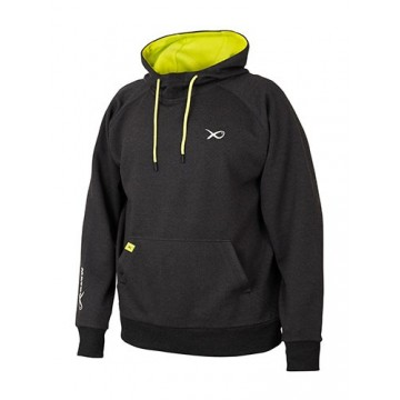 MATRIX MINIMAL BLACK MARL HOODY
