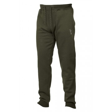 FOX COLLECTION GREEN & SILVER JOGGERS