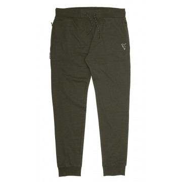 FOX COLLECTION GREEN & SILVER LIGHTWEIGHT JOGGERS