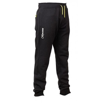 MATRIX MINIMAL BLACK MARL JOGGERS
