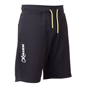 MATRIX MINIMAL BLACK MARL JOGGER SHORTS