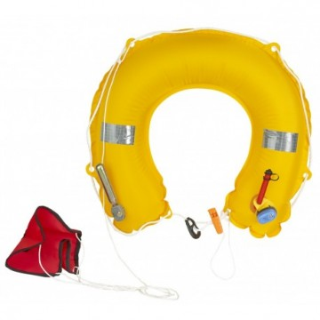 PLASTIMO INFLATABLE HORSESHOE BUOY