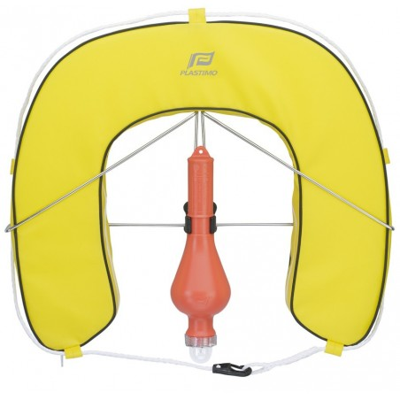 PLASTIMO HORSESHOE BUOY WITH REMOVABLE COVER