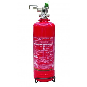 PLASTIMO GAS FIRE EXTINGUISHERS WITH REMOTE ACTIVATION