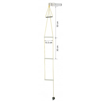 PLASTIMO FLUSHMOUNT SAFETY LADDER