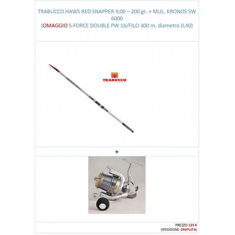HAWS RED SNAPPER + MUL. KRONOS SW 6000