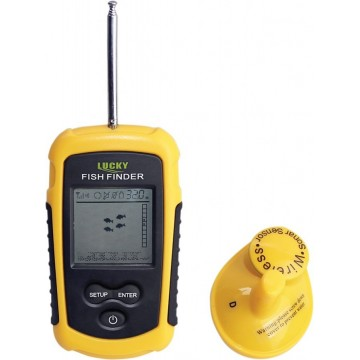 LUCKY FISH FINDER - WIRELESS
