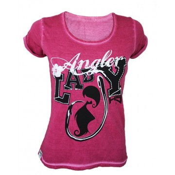 T-SHIRT LADY ANGLER